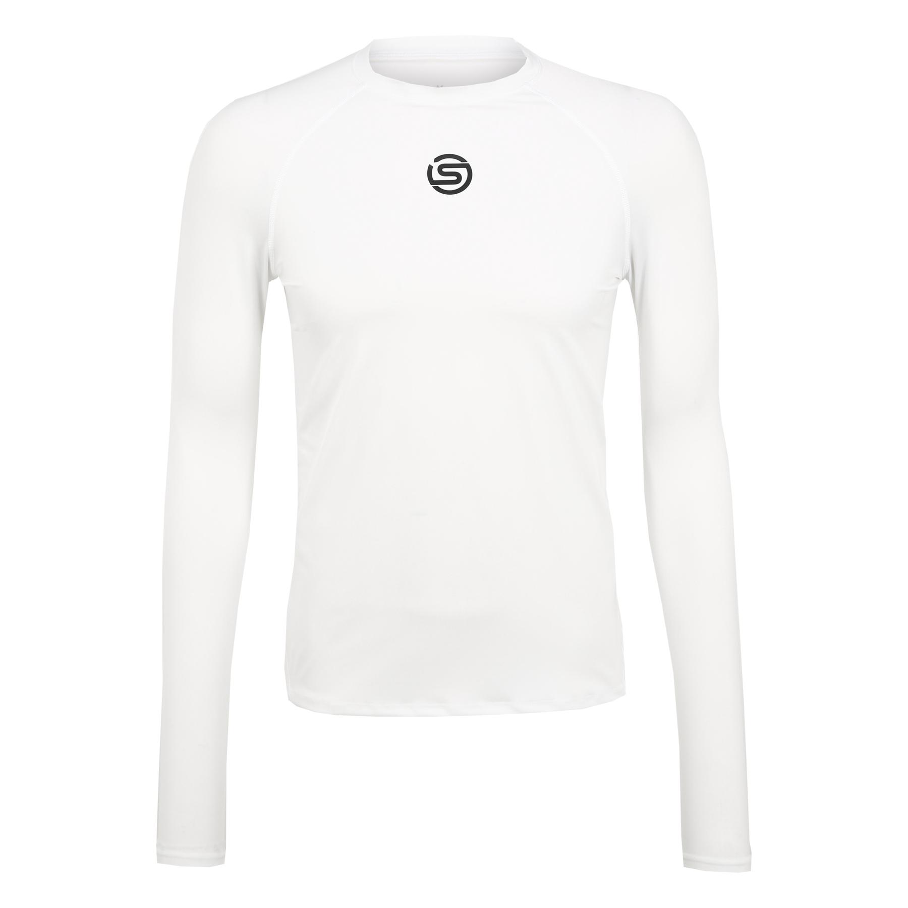Produktbild von SKINS Compression 1-Series Herren Langarmshirt - Weiß