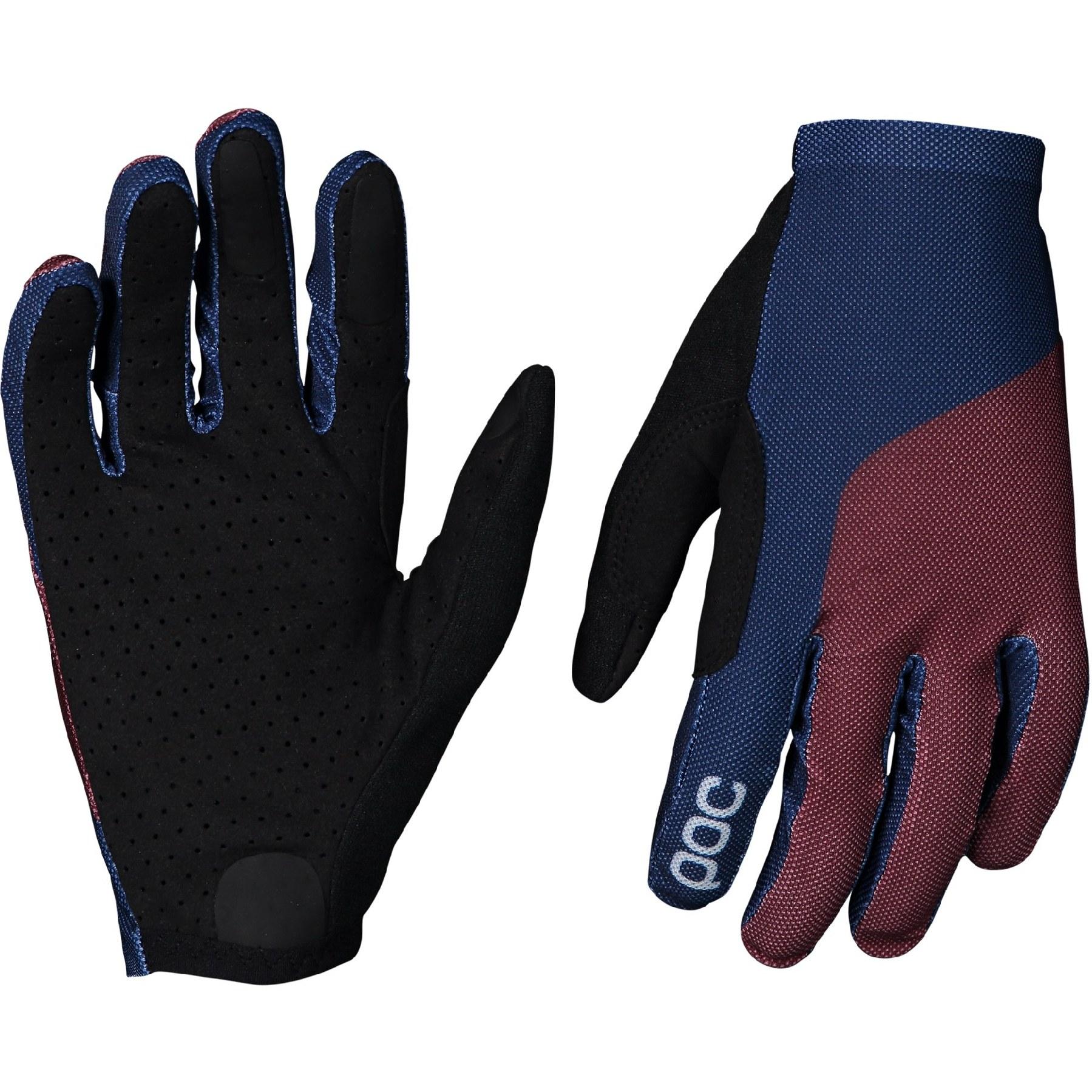 Foto de POC Essential Mesh Glove Guantes de ciclismo - 8374 Propylene Red/Turmaline Navy