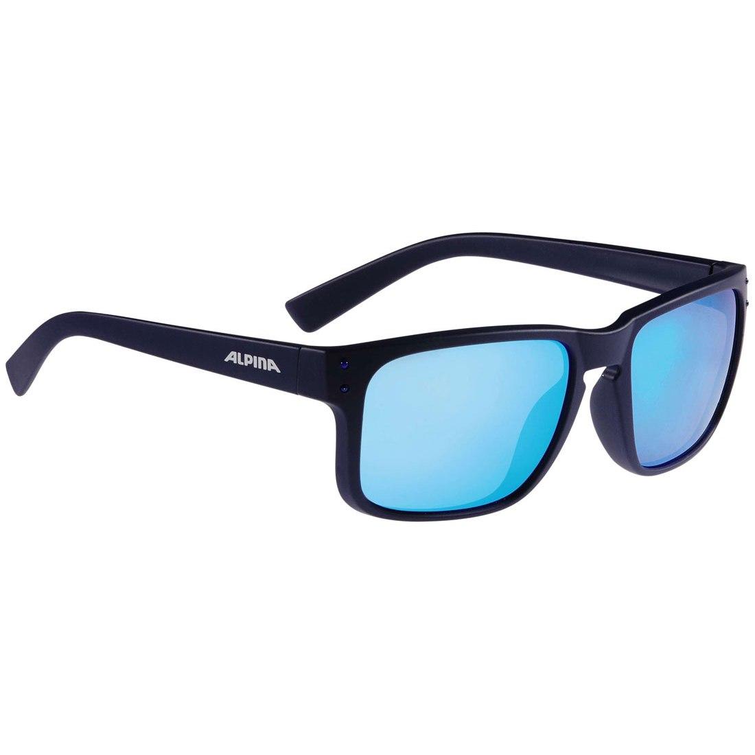 Alpina Kosmic Glasses - Nightblue Matt/CeramiC Blue Mirror