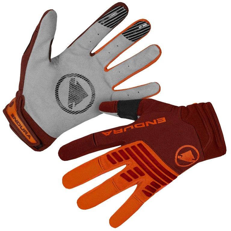 Endura SingleTrack Glove - tangerine