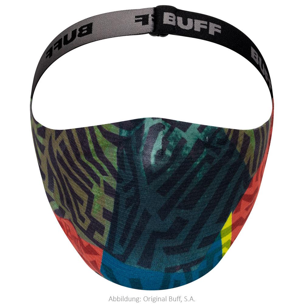 Buff® Filter Mask Protection Kids - Stony Green