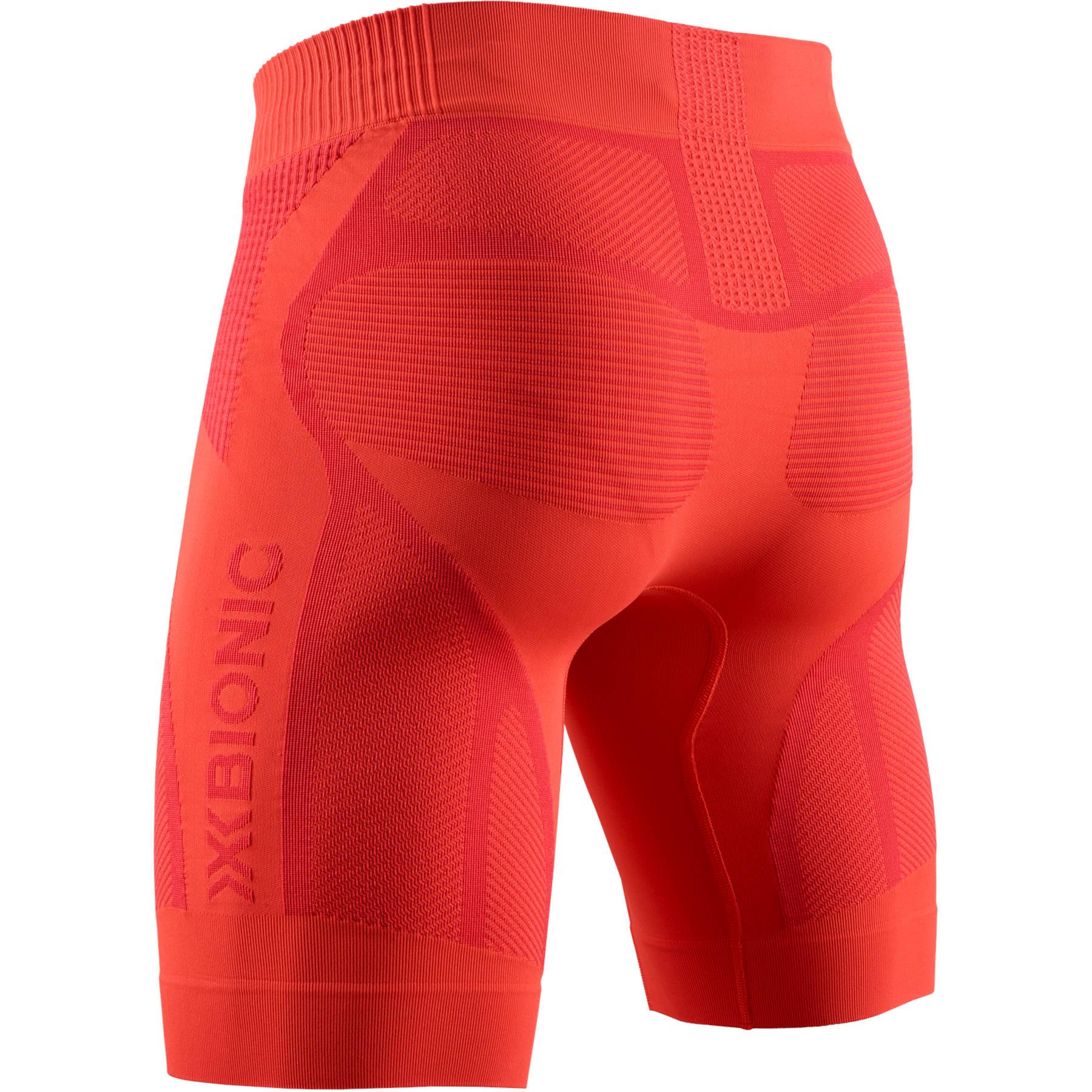 Bild von X-Bionic The Trick G2 4.0 Run Shorts Laufhose für Herren - namib red/sunset orange