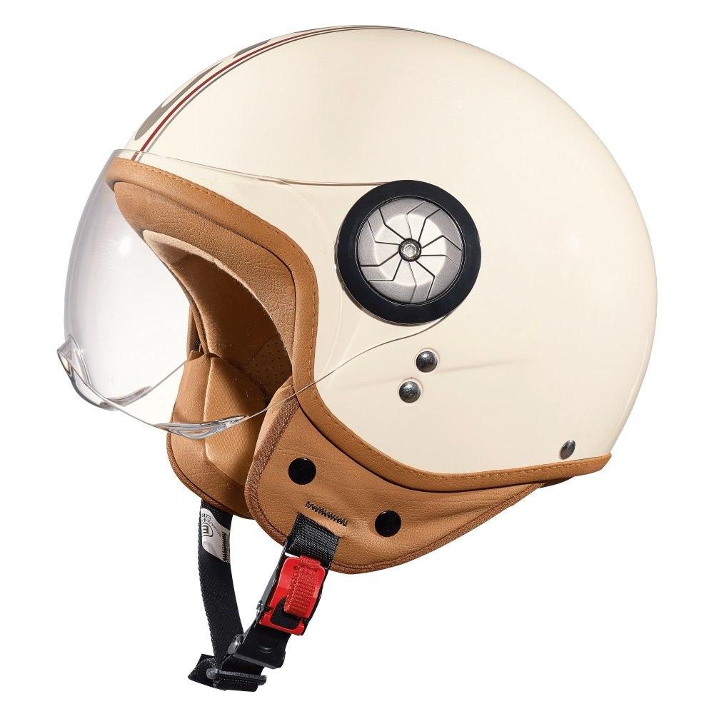CRATONI Milano Helmet - cream-red glossy
