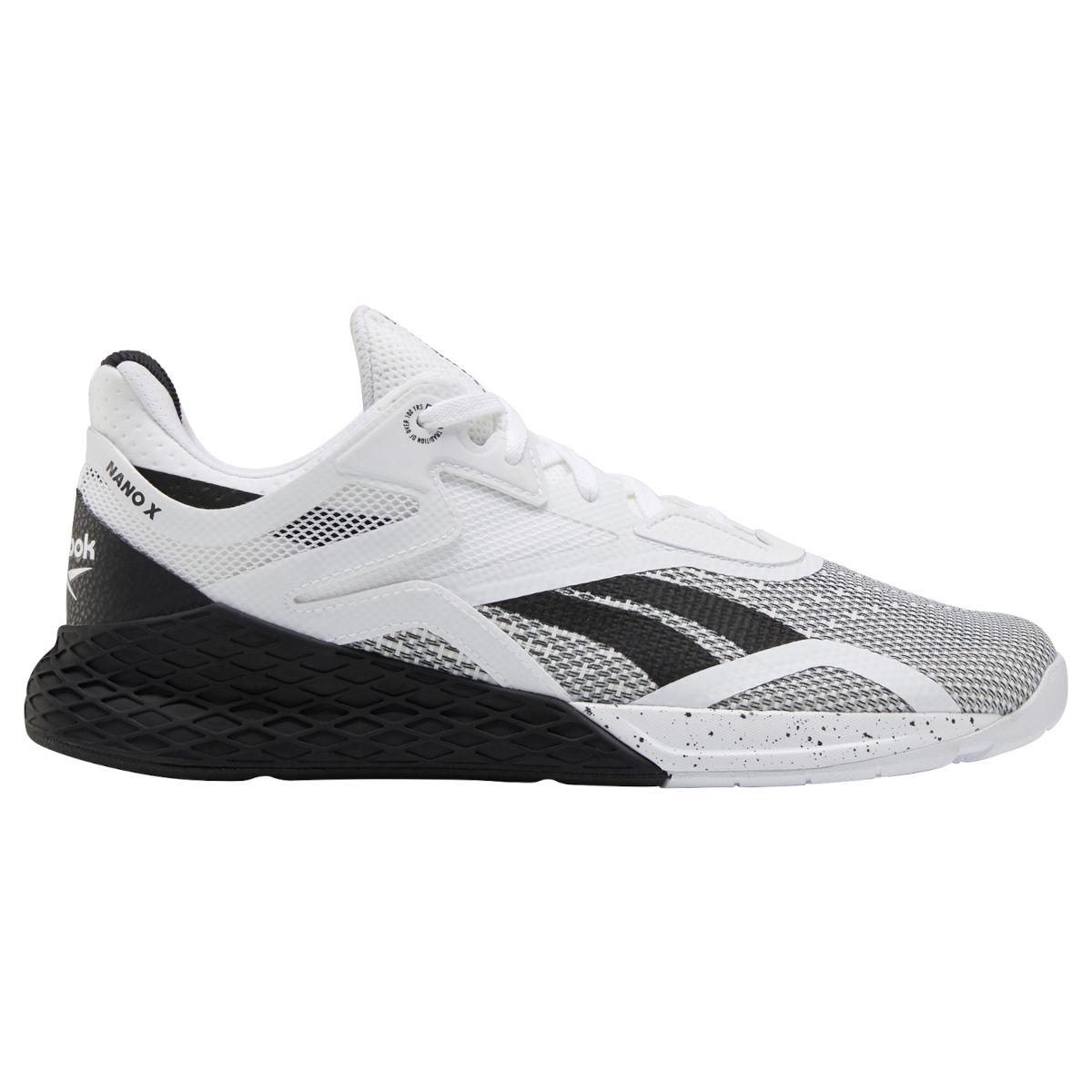 Reebok Männer Nano X Fitness-Schuh - black/white/white EH3094