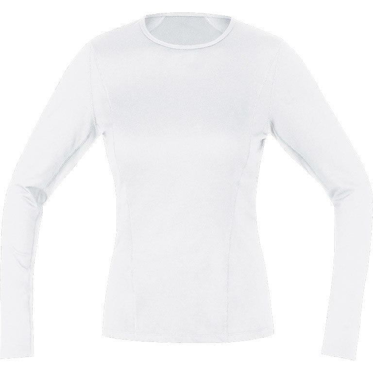 GORE Wear M Women Base Layer Thermo Long Sleeve Shirt - white 0100
