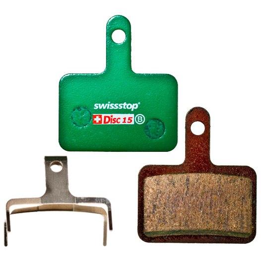SwissStop Disc 15 Brake Pads for Shimano / Quad / Tektro / TRP