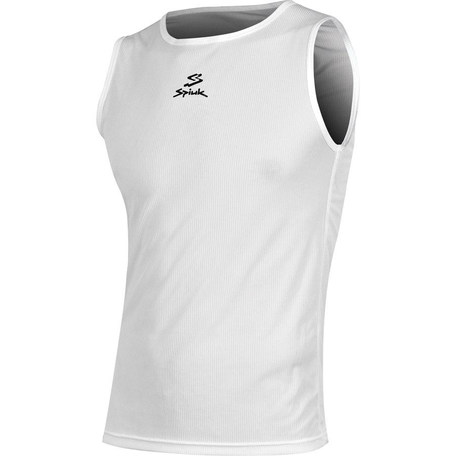 Spiuk XP Summer Unisex T-Shirt Unterhemd ärmellos - white