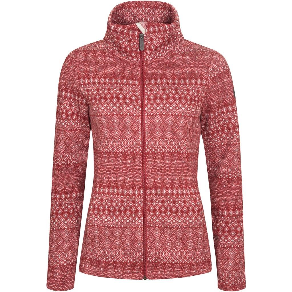 Elkline glaciertour Womens Fleece Jacket - riored