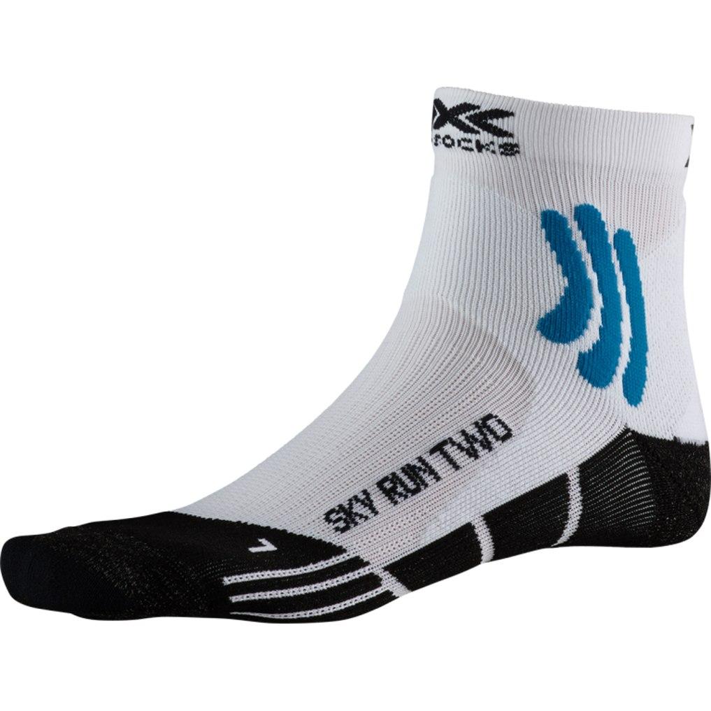 X-Socks Sky Run Two Laufsocken - artic white/opal black
