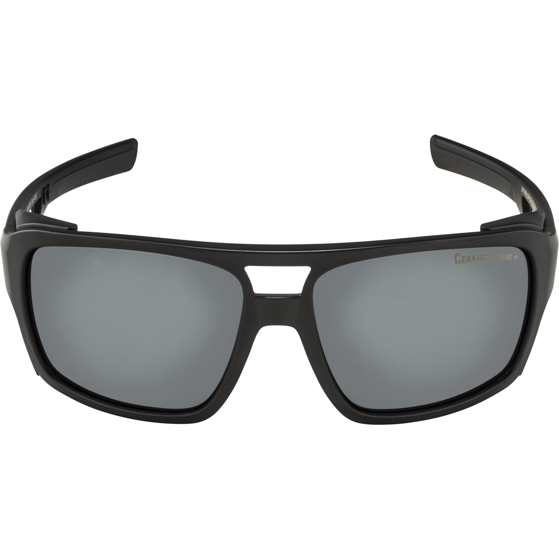 Image of Alpina Skywalsch CM+ Glasses - black matt / black mirror