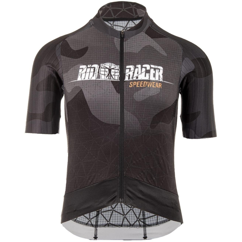 Bioracer Speedwear Concept Stratos GR+ Jersey - Grey - Camo