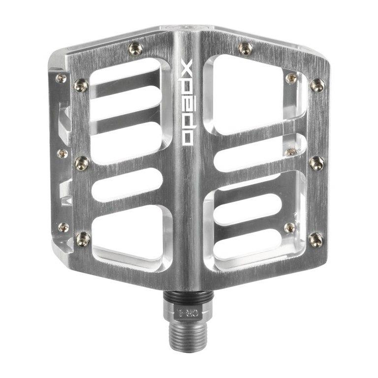 Xpedo JEK Flat Pedal - silber