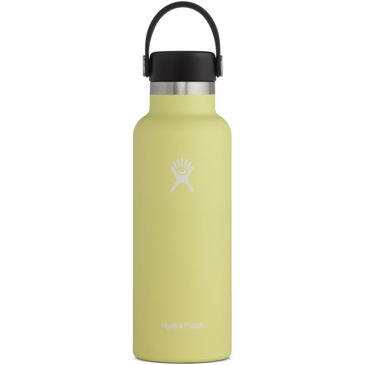 Produktbild von Hydro Flask 18oz Standard Mouth Flex Cap Thermoflasche - 532ml - Pineapple
