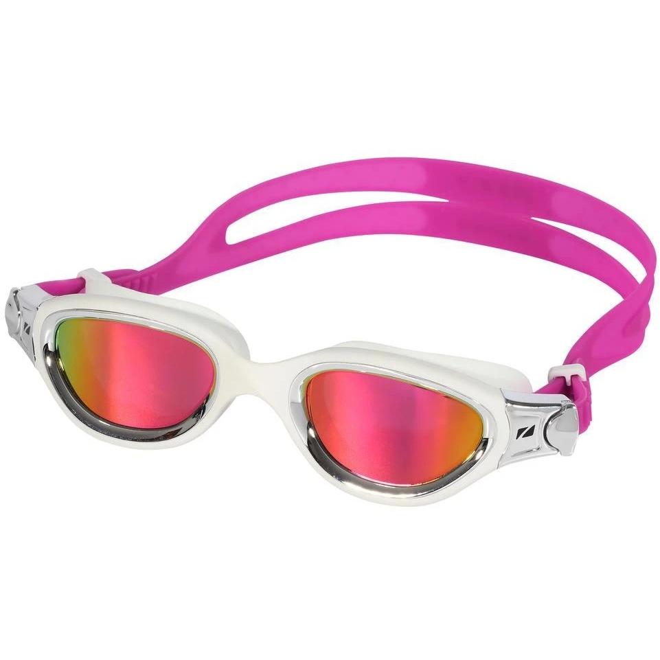 Zone3 Venator-X Schwimmbrille - Polarized - white/silver - polarized revo pink lens