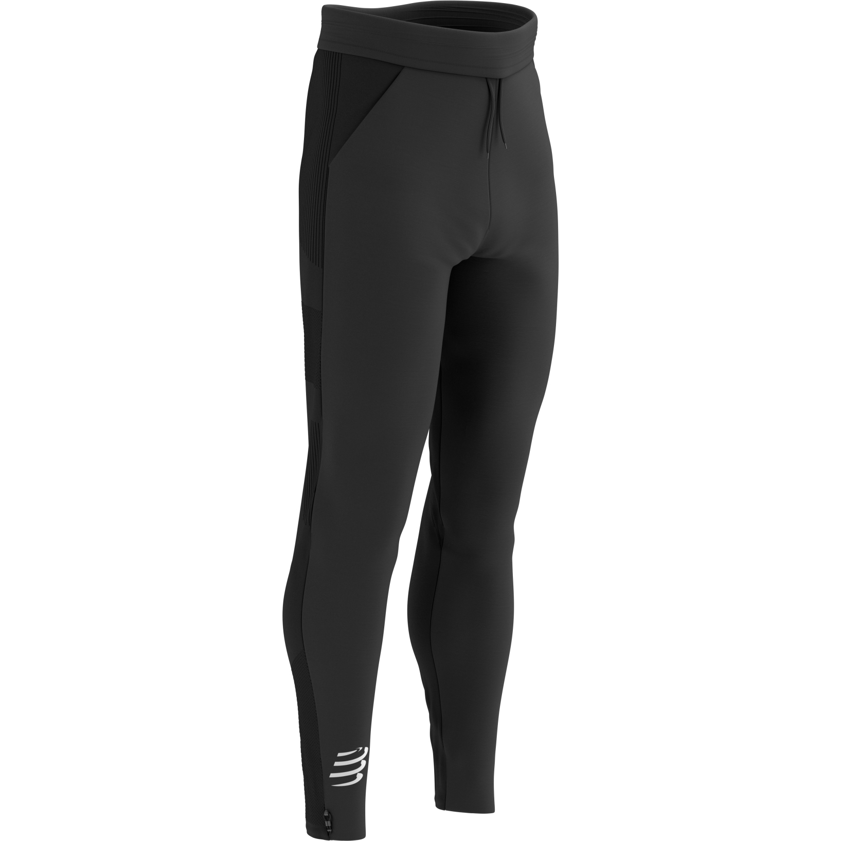 Foto de Compressport Hybrid Seamless Hurricane Pantalones - black