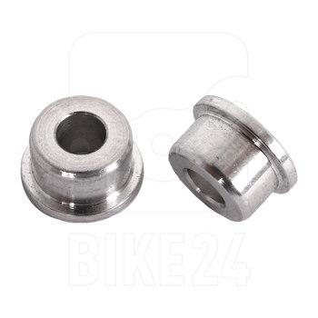 FOX Aluminium Einbaubuchsenset 2-teilig - 6mm