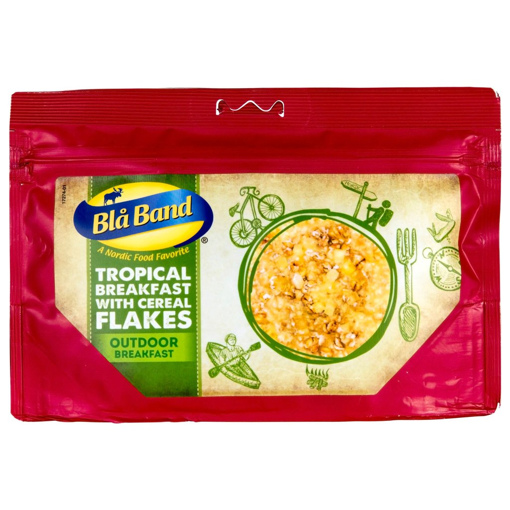 Blå Band Tropical Breakfast with Cereal Flakes - Outdoor Breakfast - 142g