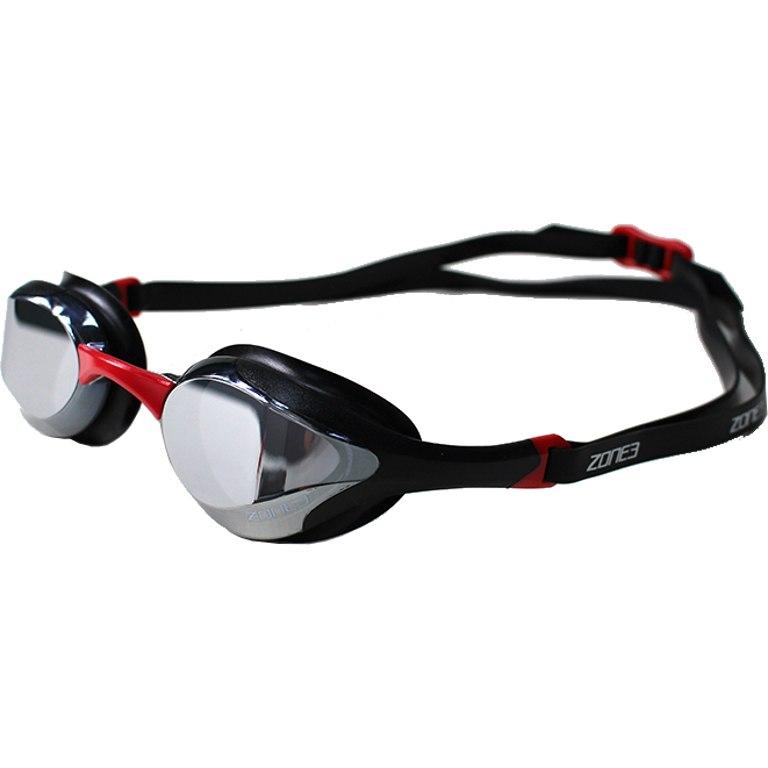 Zone3 Volare Streamline Racing Goggles - Mirror - black/red