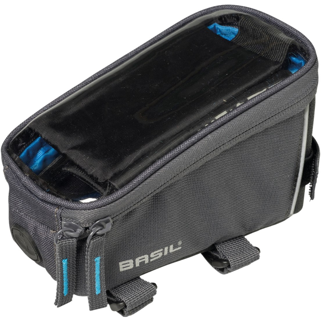 Basil Sport Designt Frame Bag - graphite