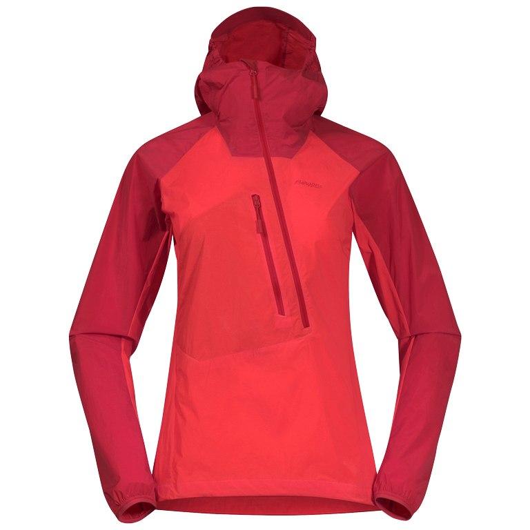 Produktbild von Bergans Cecilie Light Wind Damen-Anorak - light dahlia red/dahlia red