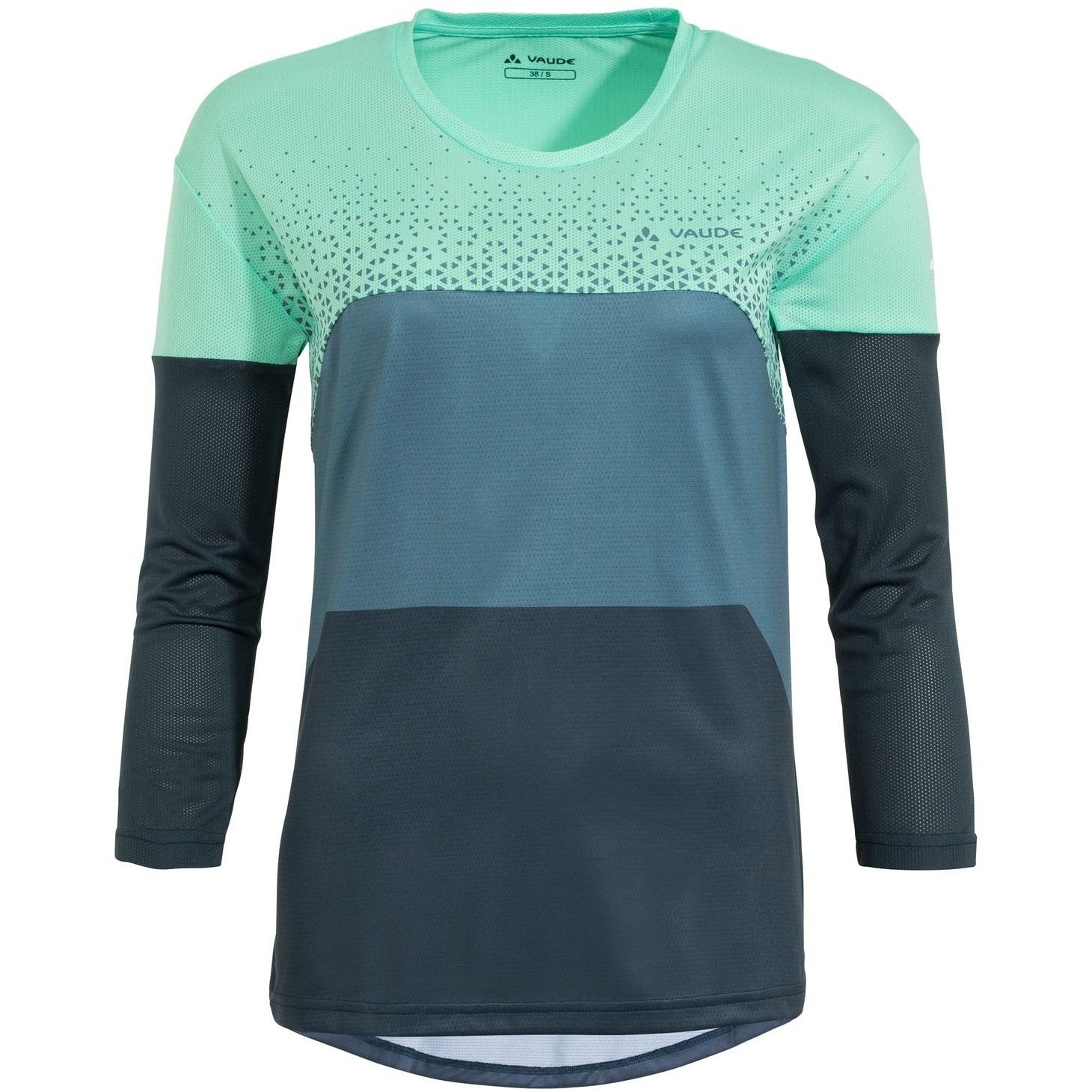 Vaude Moab V Langarm Damen T-Shirt MTB - opal mint