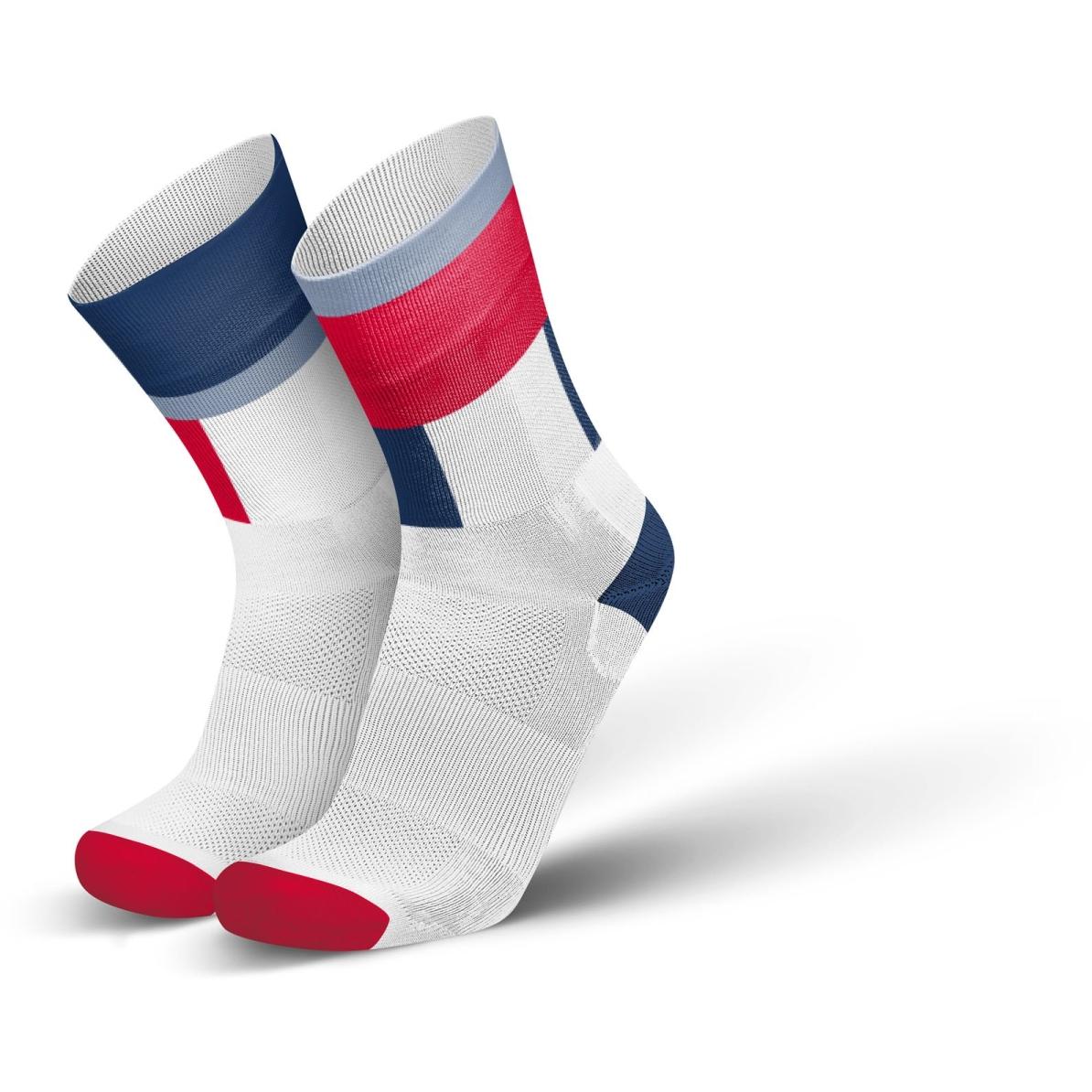 Produktbild von INCYLENCE Ultralight Zones Socken - Navy Red