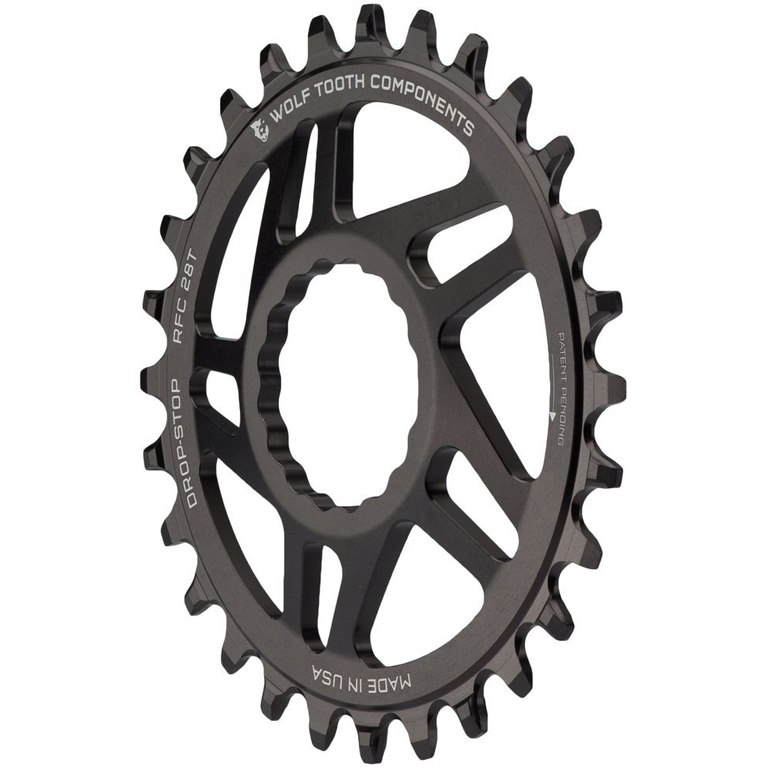 Image of Wolf Tooth Direct Mount Boost Chainring for SRAM - Drop Stop - black