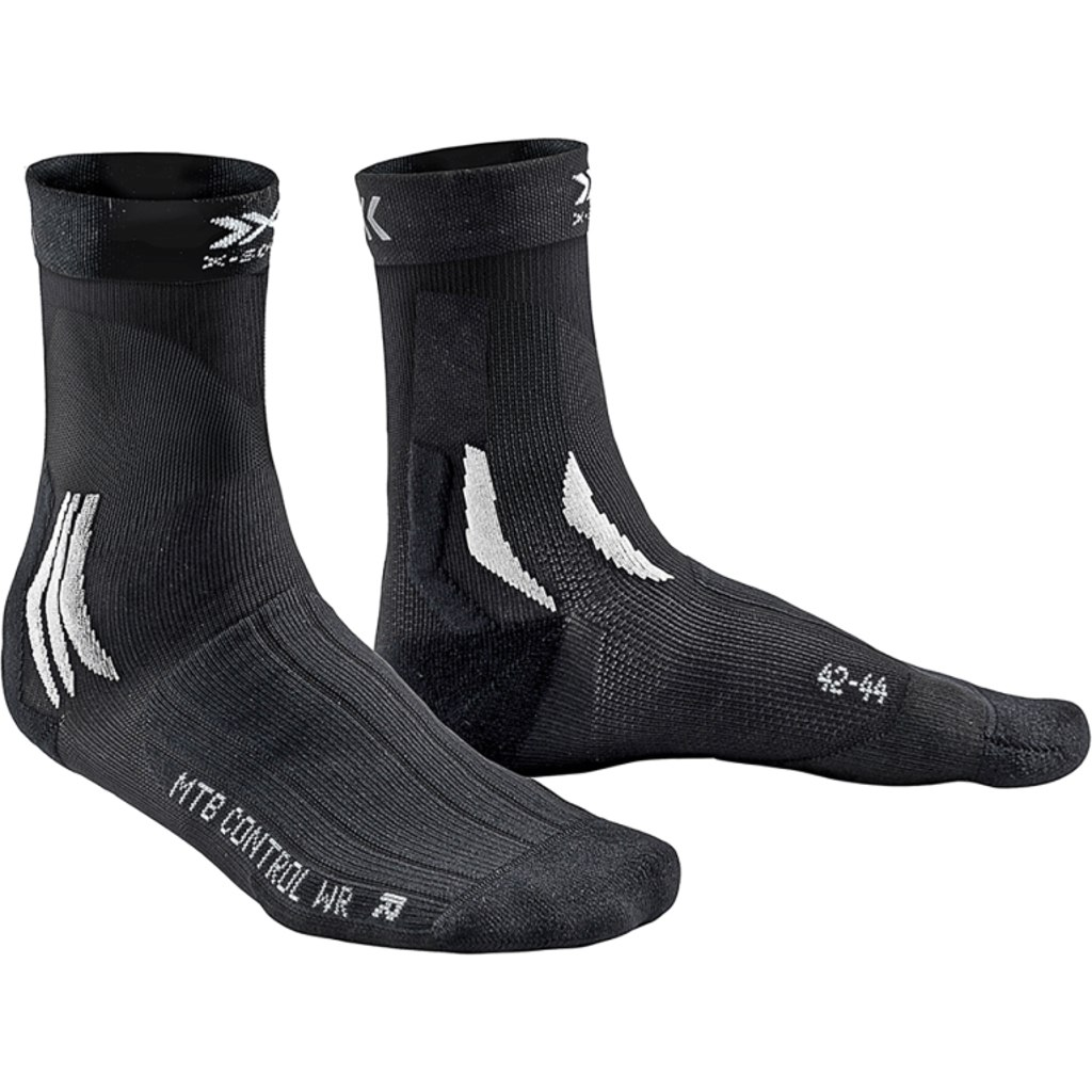 X-Socks MTB Control WR Biking Socks - opal black/arctic white