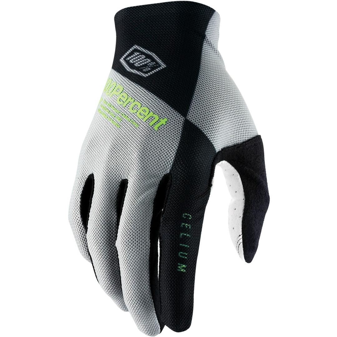100% Celium Gloves - vapor/lime