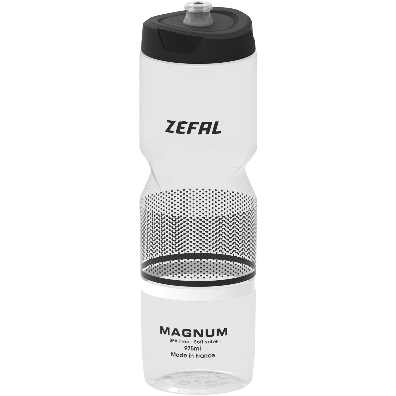 Zéfal Magnum Trinkflasche 975ml - translucent/black