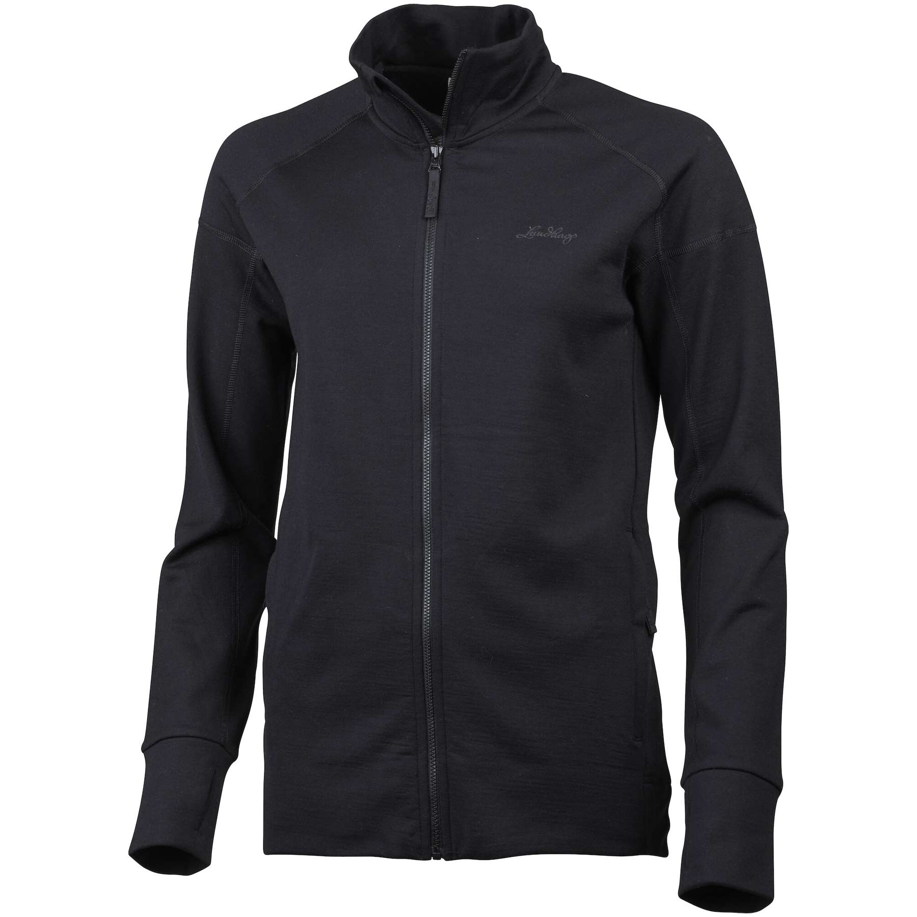 Lundhags Ullto Merino Full Zip Women's Jacket - Black 900
