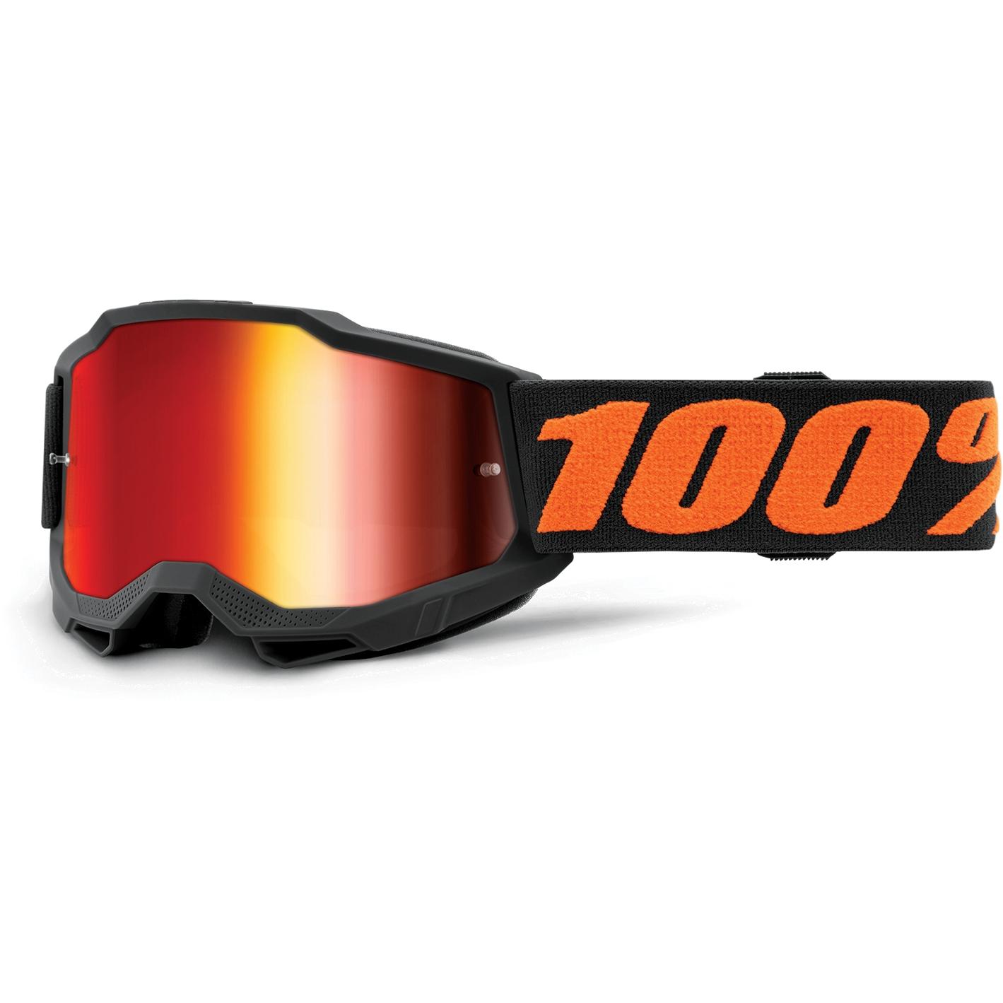100% Accuri 2 Goggle Mirror Lens Gafas para niños - Chicago - Red Mirror