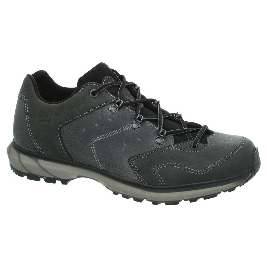 Hanwag Palung Low Shoe - Asphalt/Black