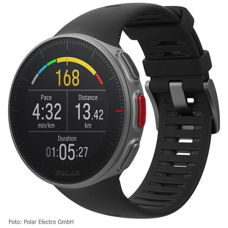 Produktbild von Polar Vantage V GPS Multisport Uhr - schwarz