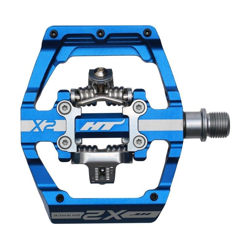 Produktbild von HT X2 Klickpedal Aluminium - königsblau