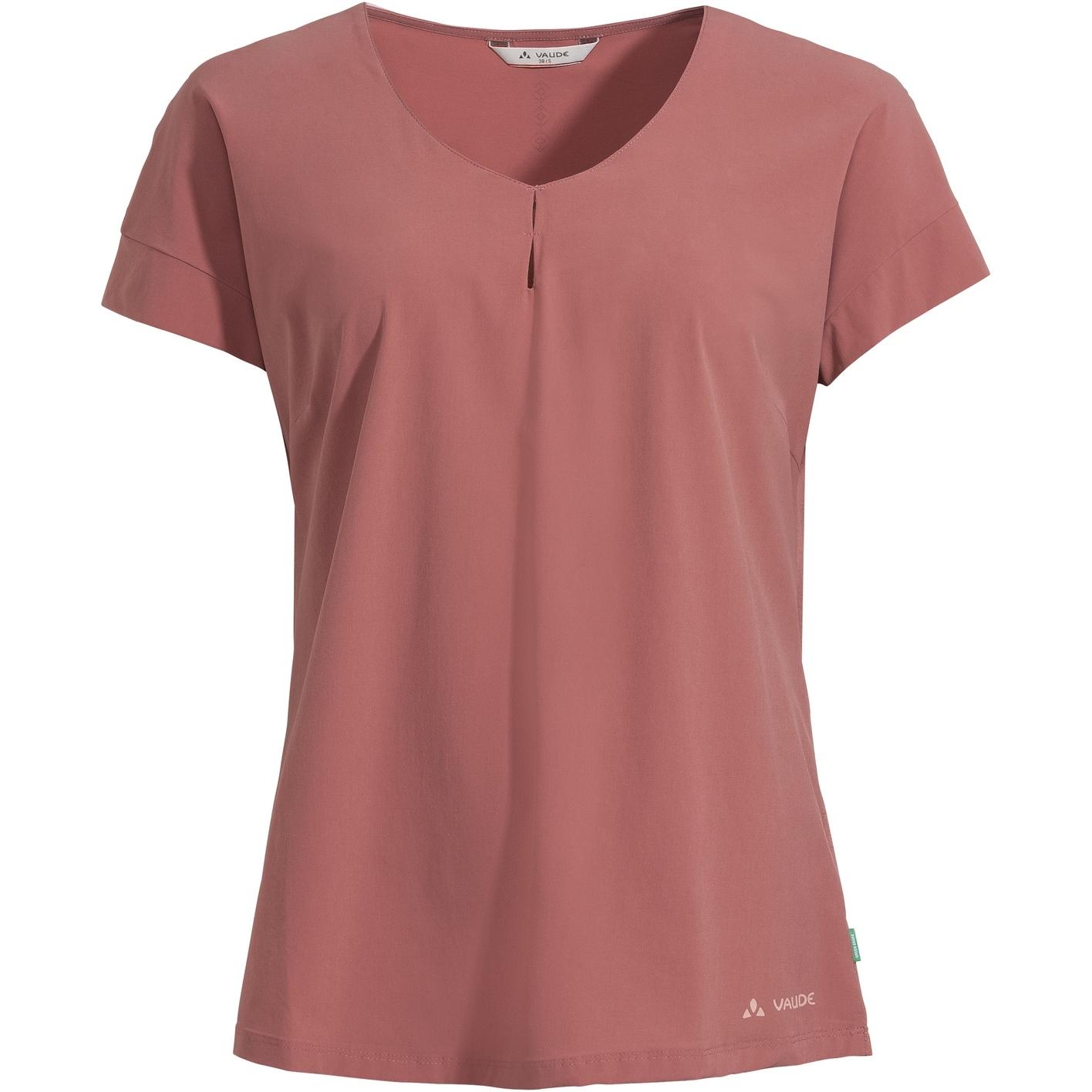 Vaude Skomer V-Neck Damen T-Shirt - dusty rose