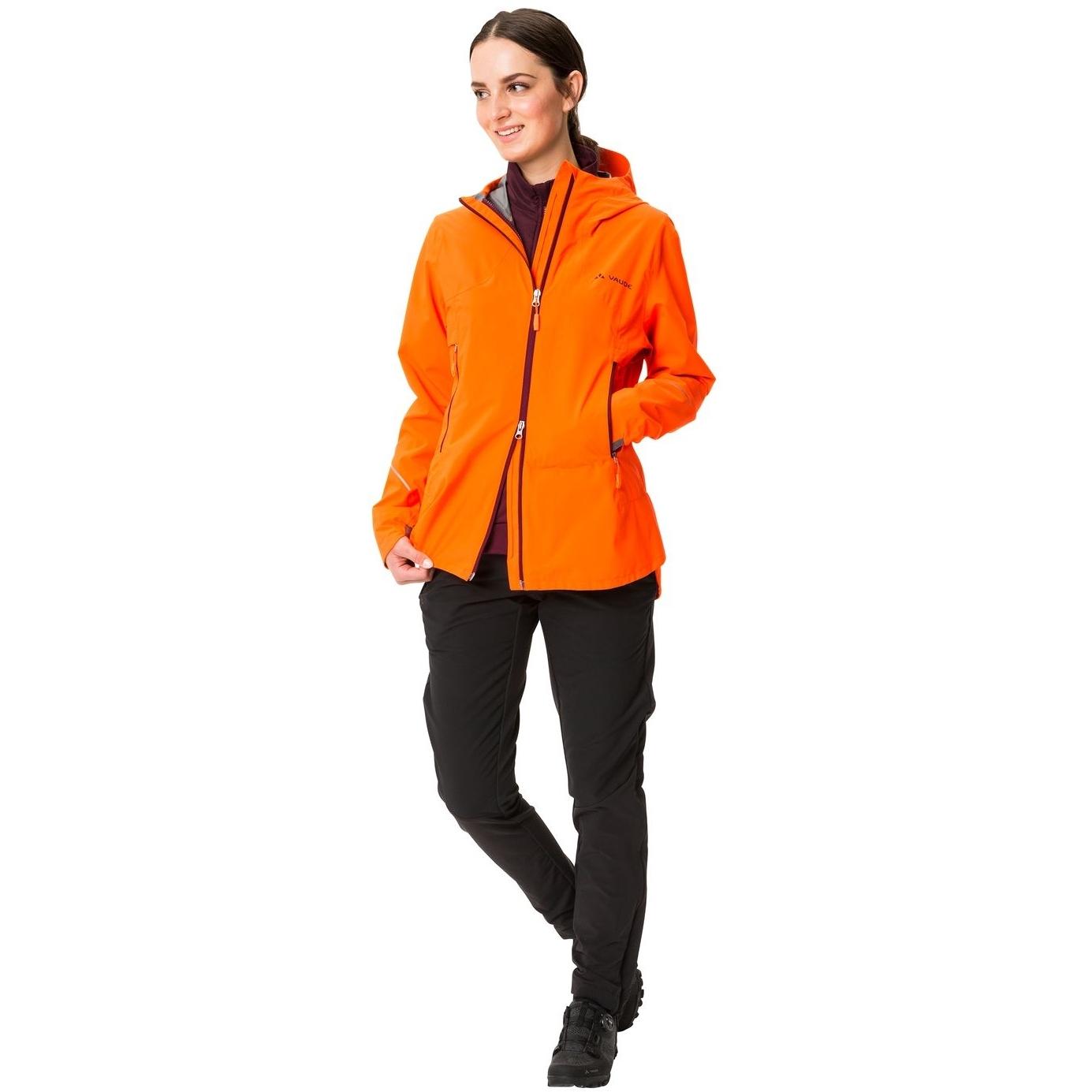 Bild von Vaude Yaras 3in1 Damenjacke - neon orange