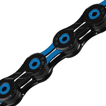KMC DLC 11 Kette - 11-fach - schwarz/blau