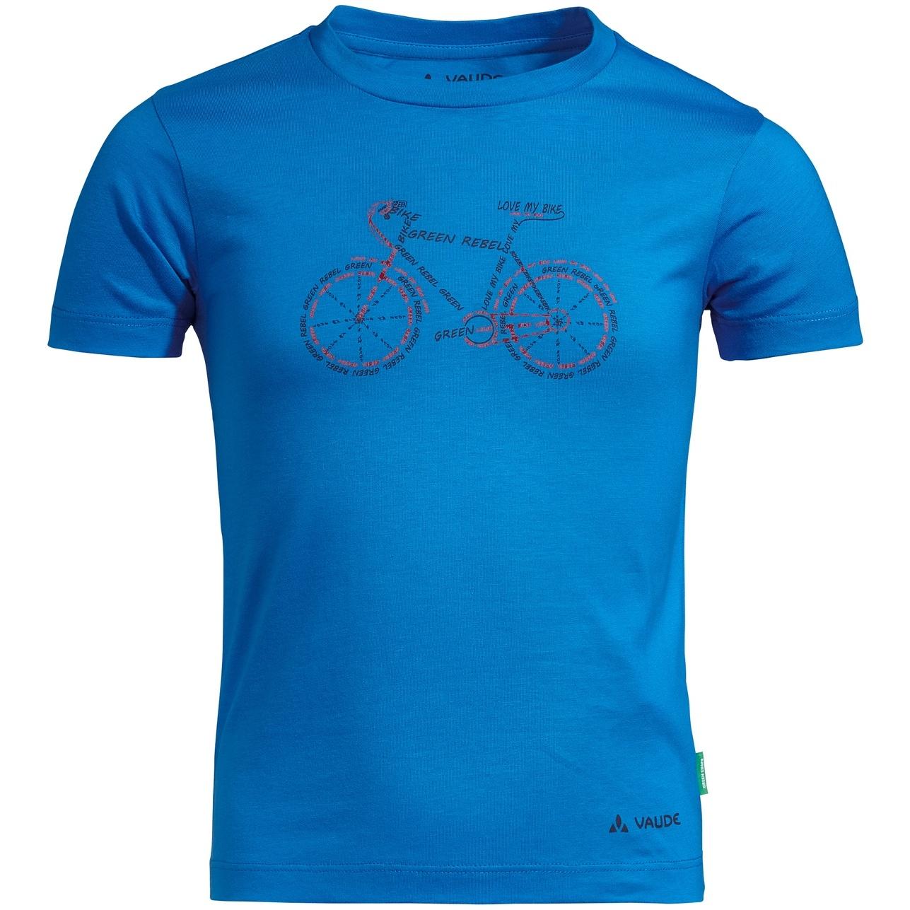 Vaude Kids Lezza T-Shirt - radiate blue/cobalt