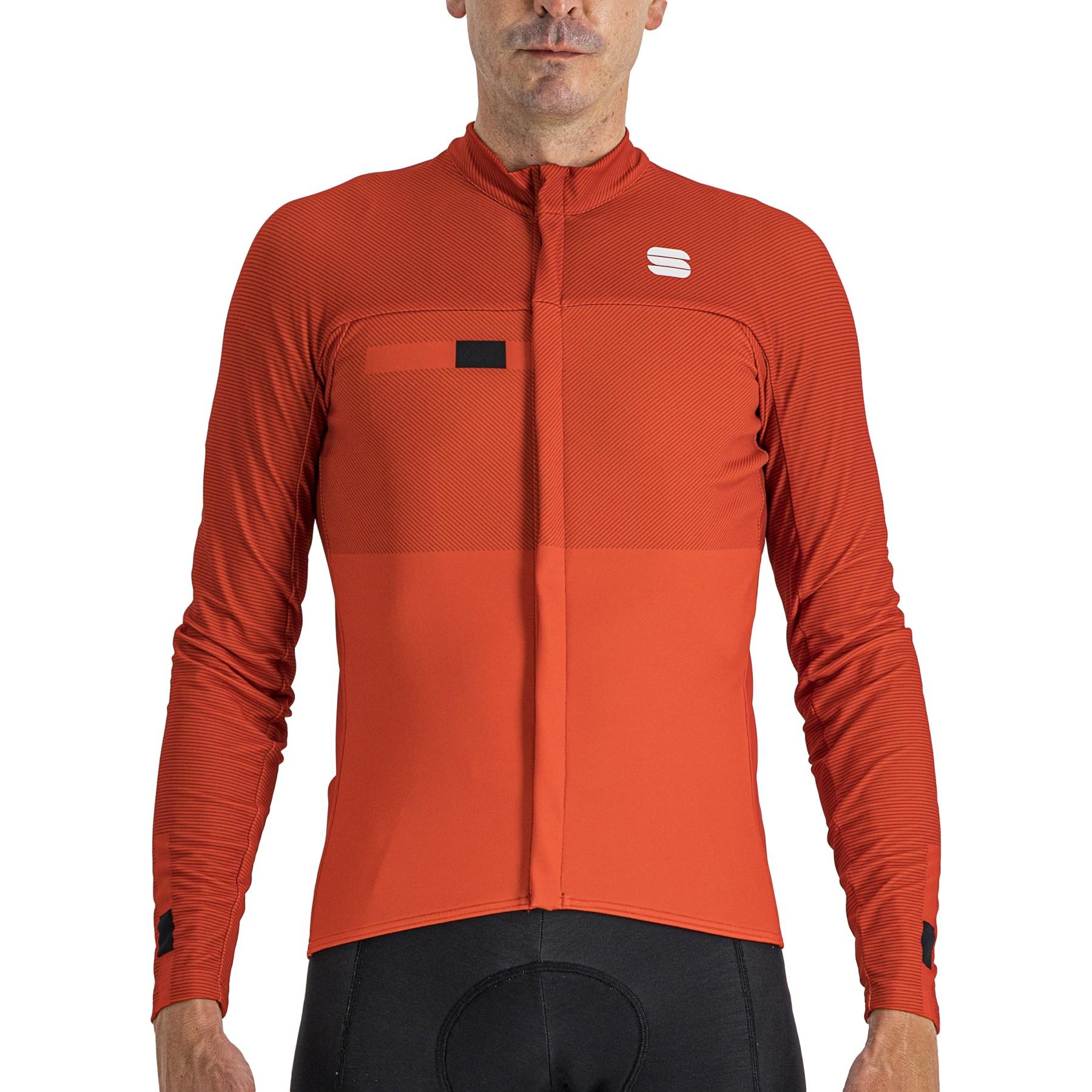 Sportful Bodyfit Pro Thermal Jersey - 567 Red/Black