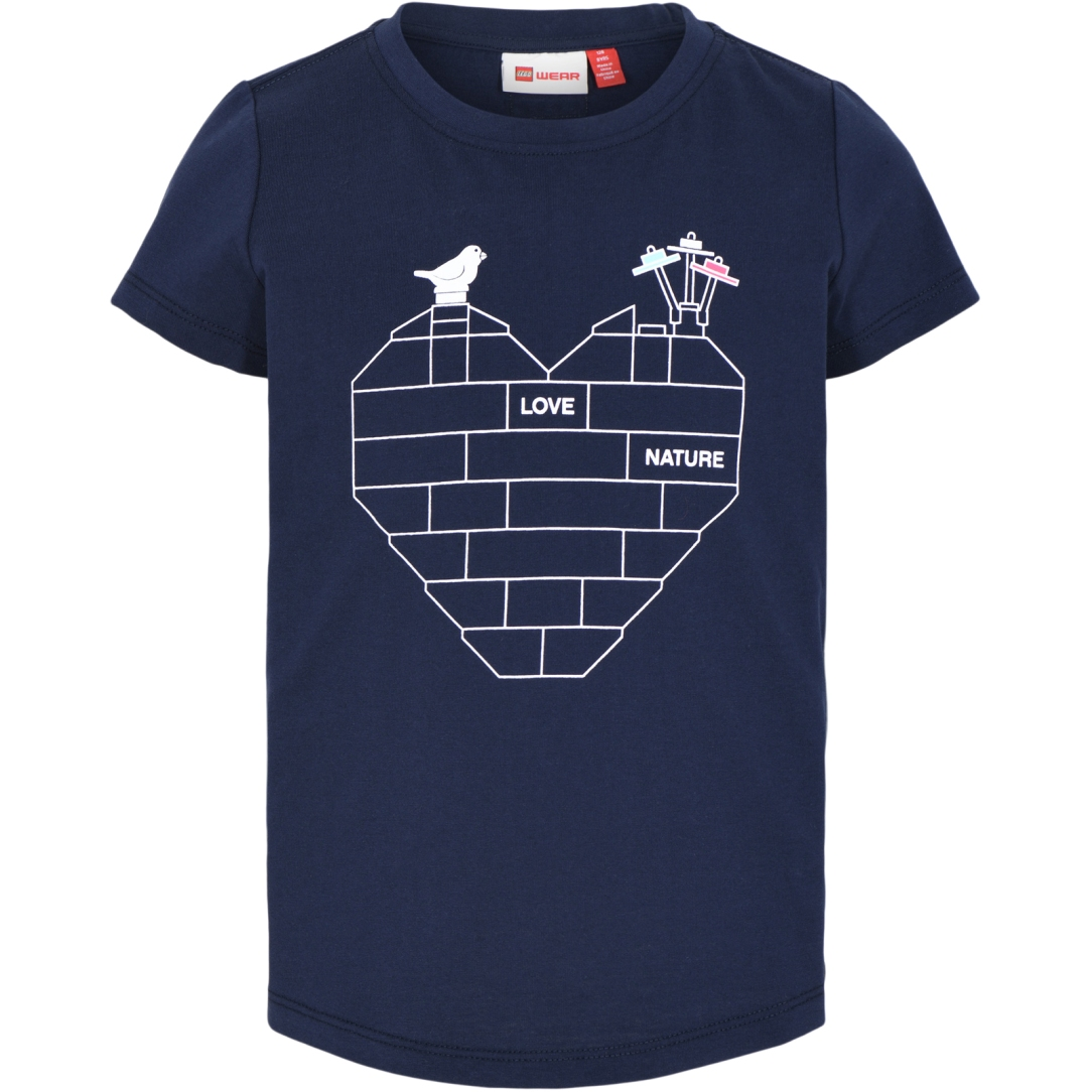 LEGO Wear Teah 304 Mädchen T-Shirt - Dark Navy