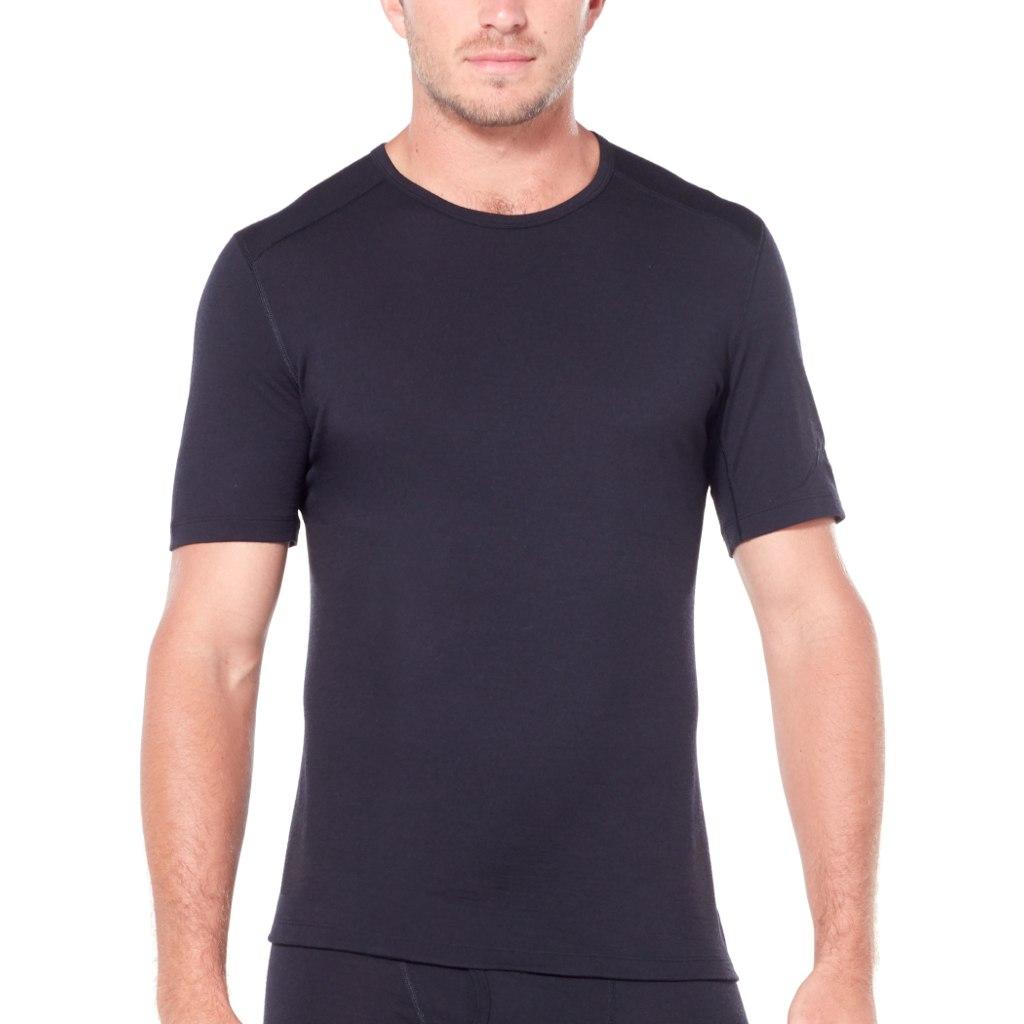 Bild von Icebreaker 200 Oasis Crewe Herren T-Shirt - Black