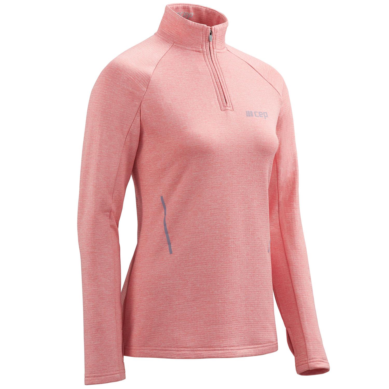 Image of CEP Winter Run Longsleeve Shirt Women - rose melange
