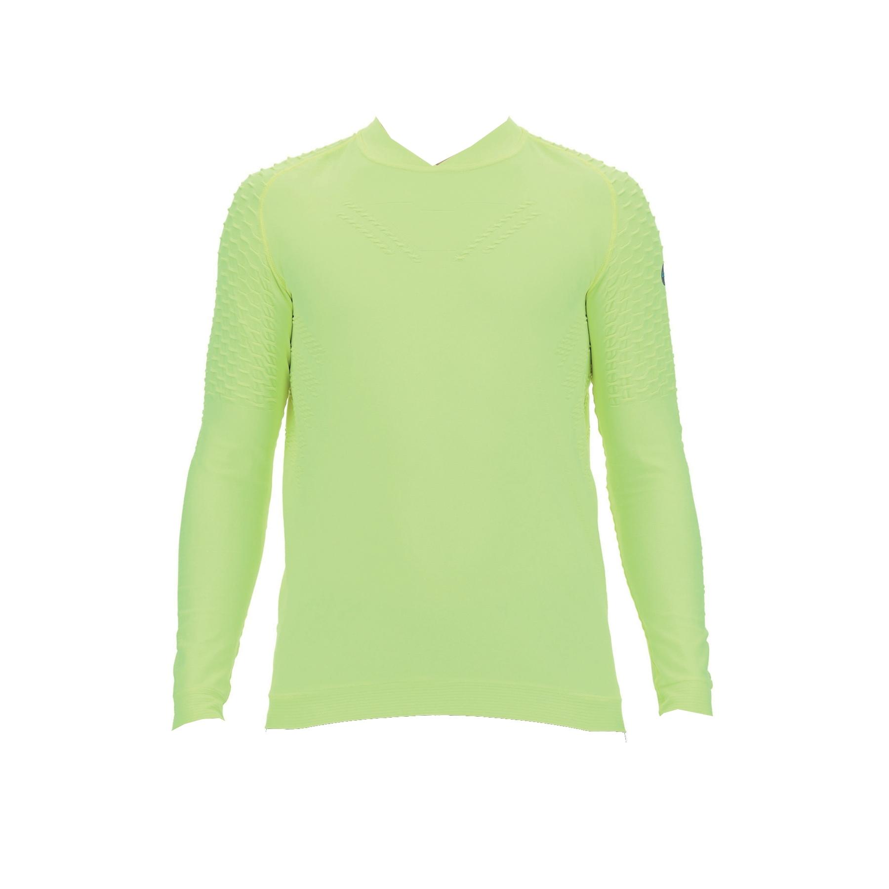 UYN City Running Longsleeve Shirt - Yellow Fluo