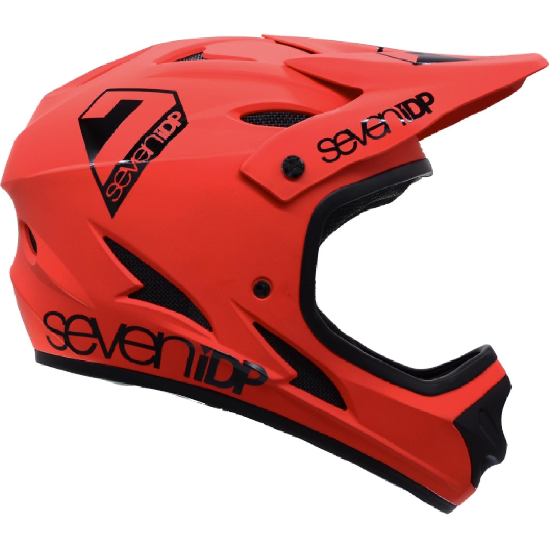 7 Protection 7iDP M1 Casco para adolescentes - thruster red