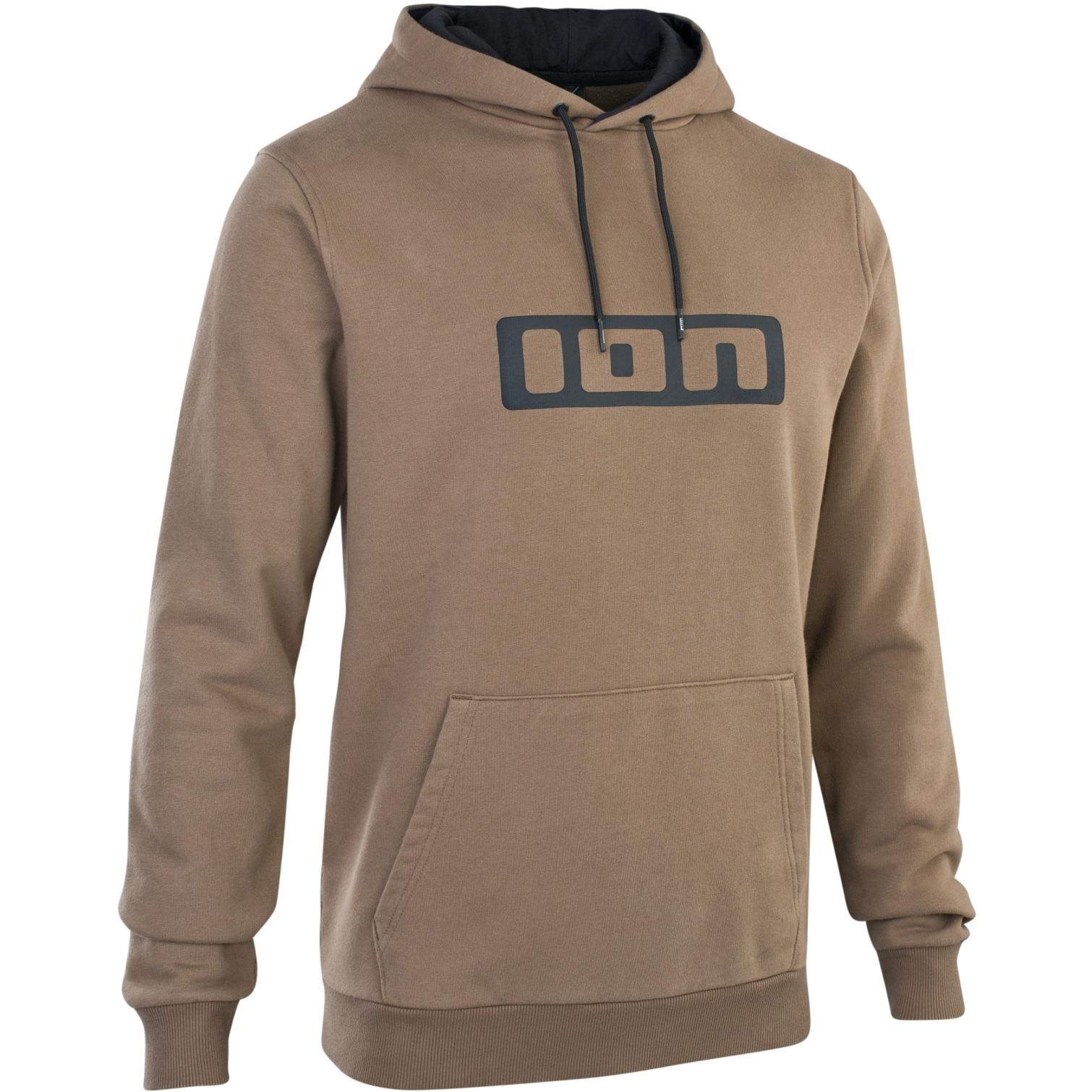 Produktbild von ION Hoody Logo Kapuzenpullover - Mud Brown