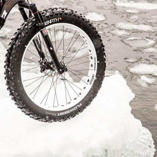 Imagen de 45NRTH Flowbeist Fatbike Folding Tire - Tubeless Ready - 26x4.6 Inches - 120TPI