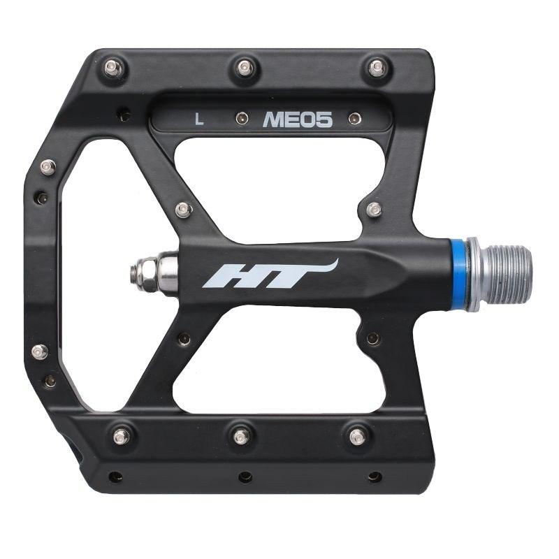 HT ME05 EVO+ Flat Pedal Magnesium - black