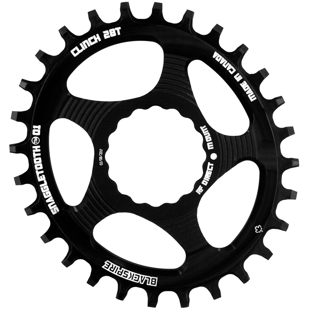 Blackspire Snaggletooth Race Face Cinch Oval Chainring Narrow-Wide Direct Mount 6mm Offset