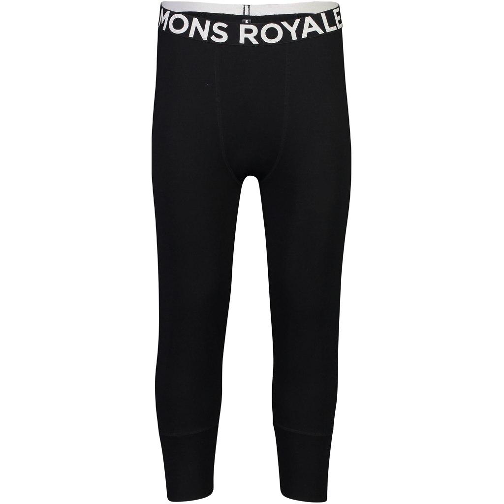 Mons Royale Shaun-Off 3/4 Leggings 100076 - black